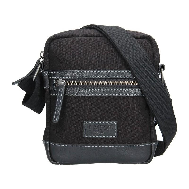 Pánská taška přes rameno Lagen Albert - černá