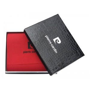 Pánská kožená peněženka Pierre Cardin Paul - černá