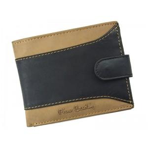 Pánská kožená peněženka Pierre Cardin Julien - černo-hnědá