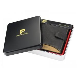Pánská kožená peněženka Pierre Cardin Eric - černo-hnědá