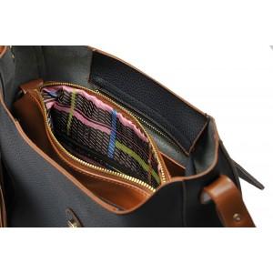 Dámská kabelka Doca 13407 - černá