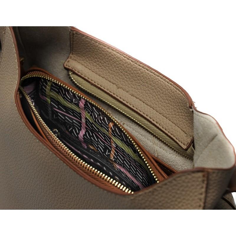 Dámská crossbody kabelka Doca 13408 - béžová