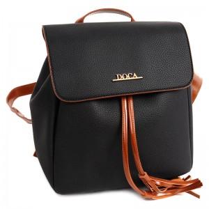 Dámský batůžek Doca 13410 - černá