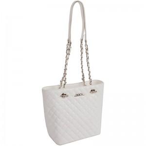 Dámská kabelka Doca 13433 - bílá