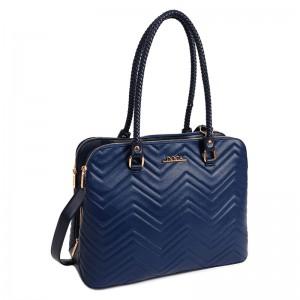 Dámská kabelka Doca 13442 - modrá