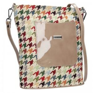 Dámská crossbody kabelka Facebag Ornela - béžová
