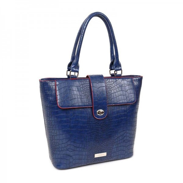 Dámská kabelka Doca 13053 - modrá