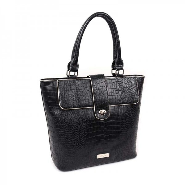 Dámská kabelka Doca 13052 - černá