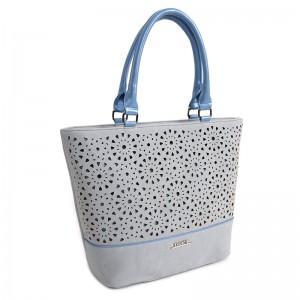 Dámská kabelka Doca 13448 - modrá