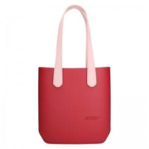 Dámská trendy kabelka Ju'sto J-Half long Sabrina - červeno-růžová