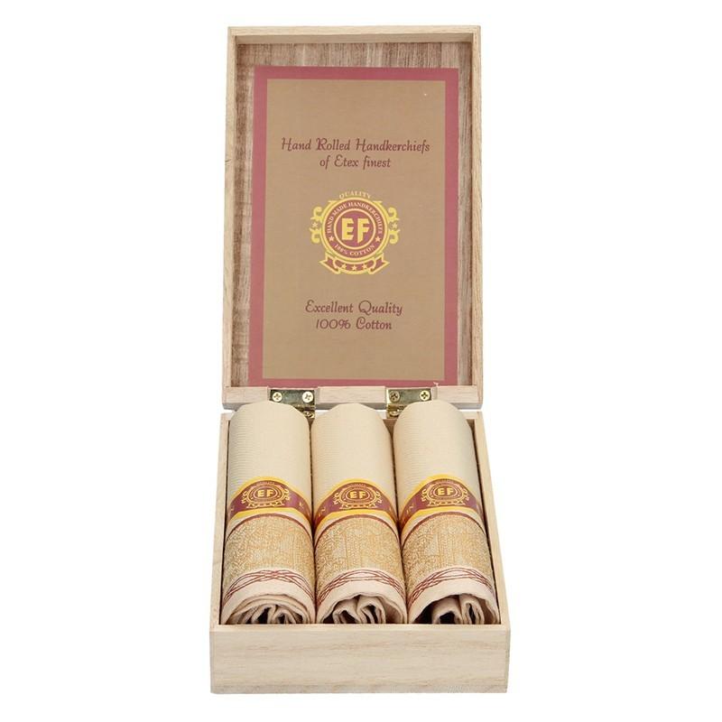 Pánské kapesníky v luxusní sadě ETEX Carmel