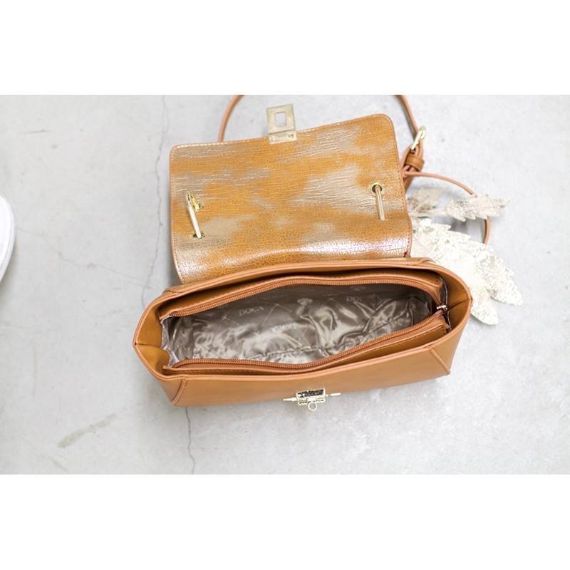Dámská kabelka Doca 12642 - tan