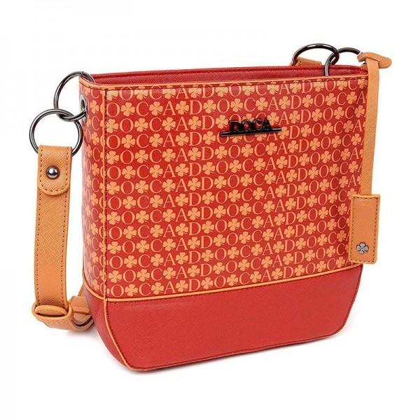 Dámská kabelka Doca 12967 - červená