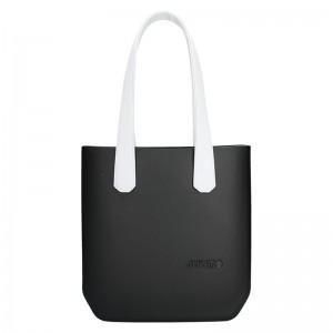 Dámská trendy kabelka Ju'sto J-Half long Abbie - černo-bílá