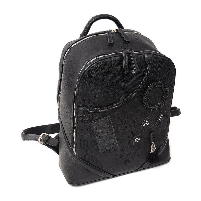 Dámský batůžek Doca 12949 - černá