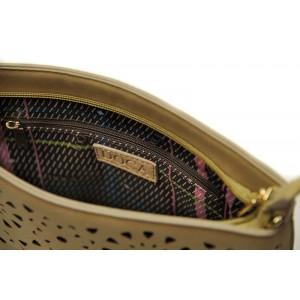 Dámská crossbody kabelka Doca 13454 - béžová