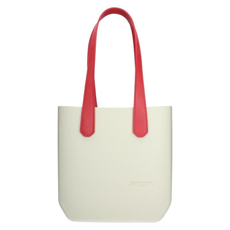 1500e9cb6d Dámská trendy kabelka Ju sto J-Half long Grace - krémovo-červená