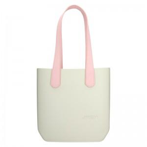 Dámská trendy kabelka Ju'sto J-Half long Grace - krémovo-růžová