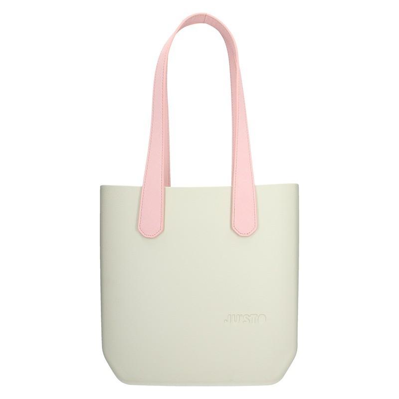 12f6b5dfb2 Dámská trendy kabelka Ju sto J-Half long Grace - krémovo-růžová
