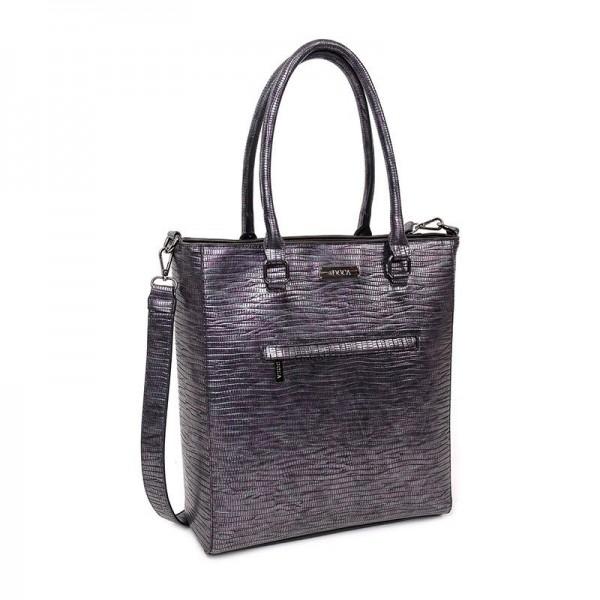 Dámská kabelka Doca 12941 - fialová