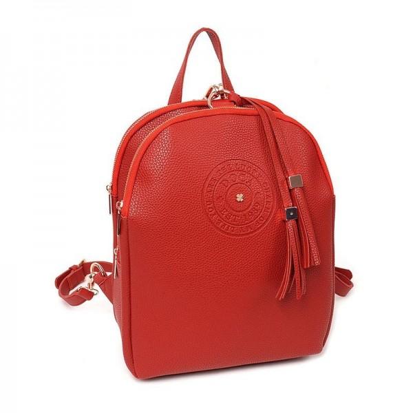 Dámský batůžek Doca 12932 - červená