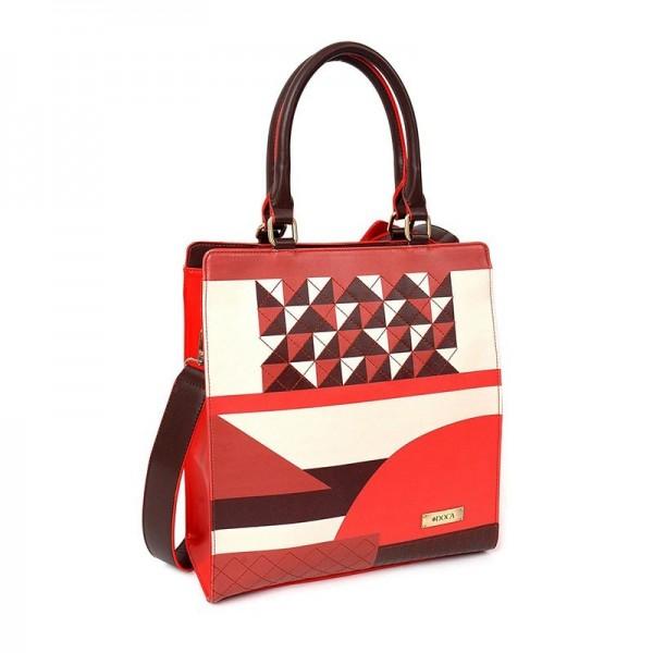 Dámská kabelka Doca 12921 - červená