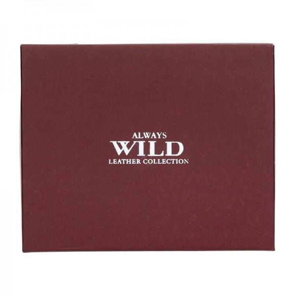 Pánská kožená peněženka Always Wild Marco - černá