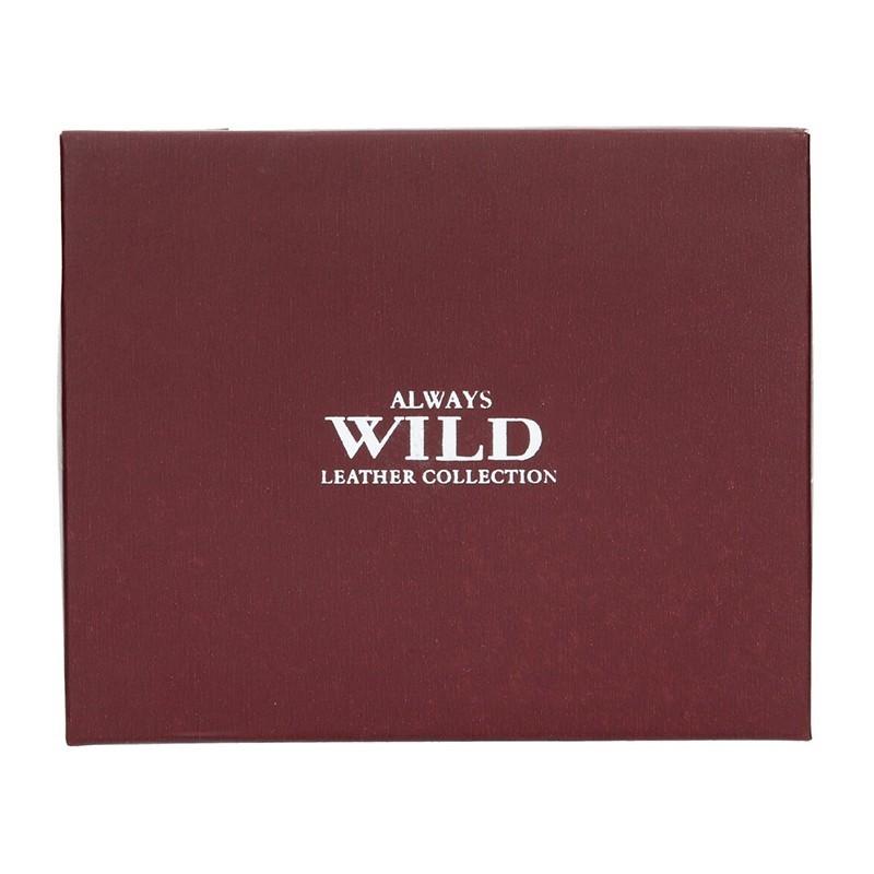Pánská taška přes rameno Always Wild Ludvik - tmavě hnědá