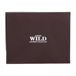 Pánská kožená peněženka Always Wild Gusta - hnědá