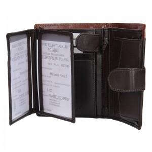 Pánská kožená peněženka Always Wild Tyler - hnědá