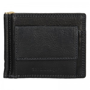 Pánská kožená dolarovka SendiDesign Fredy - černá