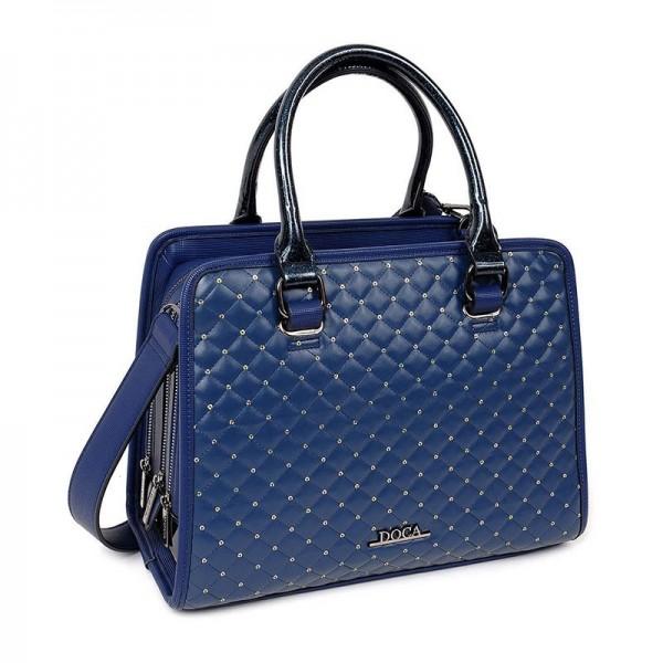 Dámská kabelka Doca 12774 - modrá