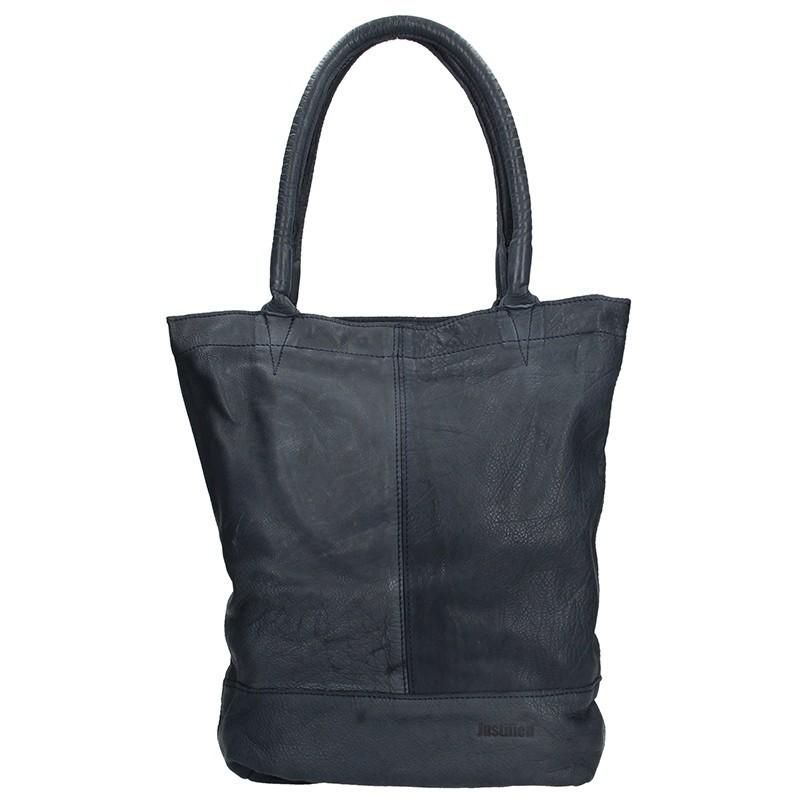 Dámská celokožená kabelka Justified Maria - černá