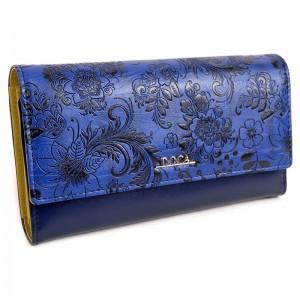 Dámská peněženka Doca 64981 - modrá