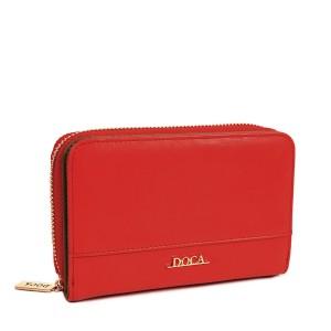 Dámská peněženka Doca 64999 - červená
