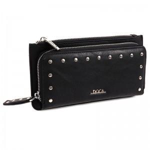 Dámská peněženka Doca 64501 - černá