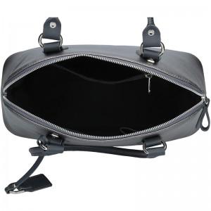 Dámská kožená kabelka Facebag Antonela - stříbrná