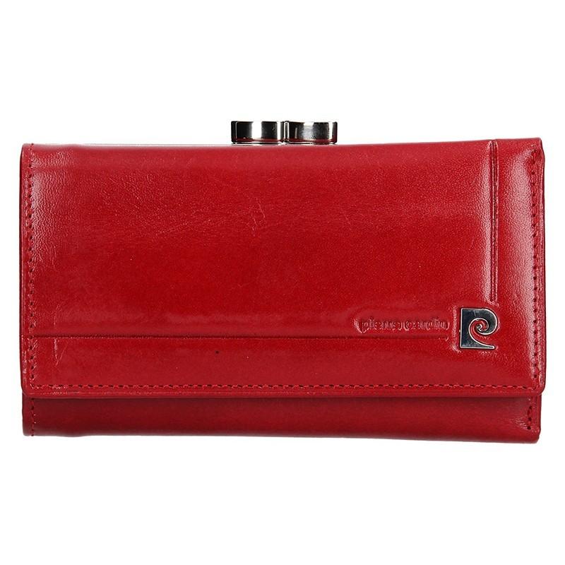 Dámská kožená peněženka Pierre Cardin Renata - červemá