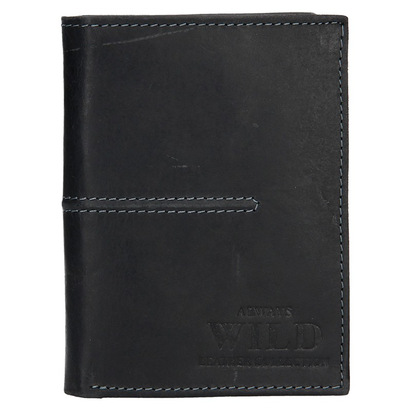 44834e9e027 Pánská kožená peněženka Always Wild Romelo - černá