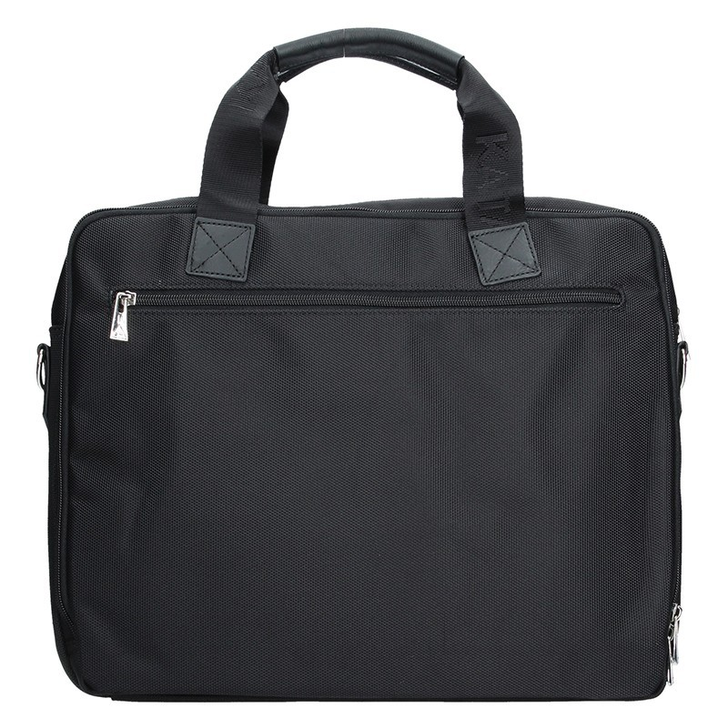 Pánská kožená taška přes rameno Katana Selem - černá