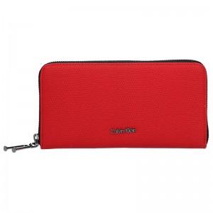 Dámská peněženka Calvin Klein Erika - červená