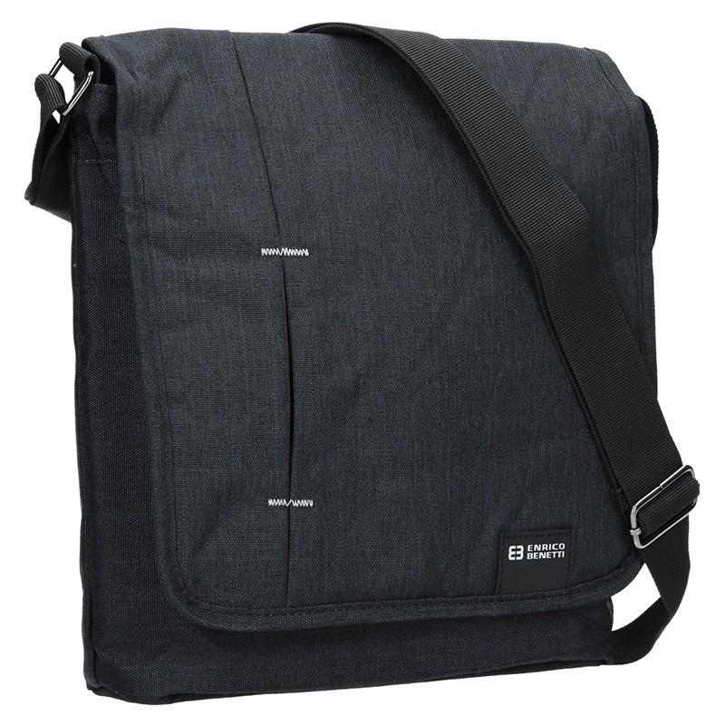 Pánská taška přes rameno Enrico Benetti Eric - šedo-černá