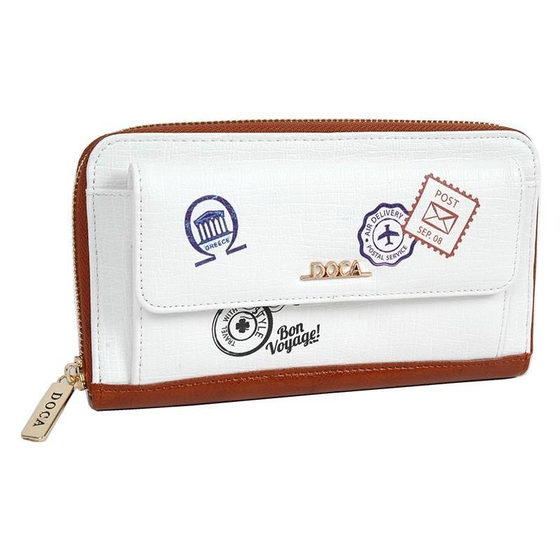 Dámská peněženka Doca 64728 - bílá
