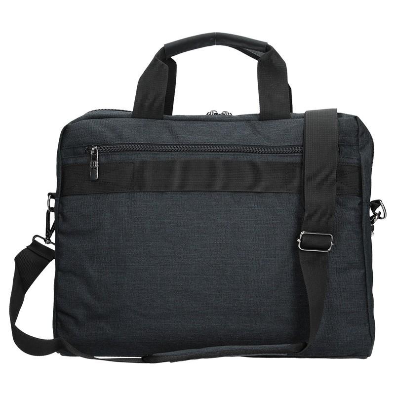 Pánská taška přes rameno Enrico Benetti Oktavius - černá