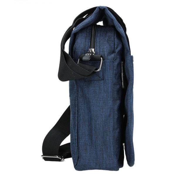 Pánská taška na doklady Enrico Benetti Niels - modrá