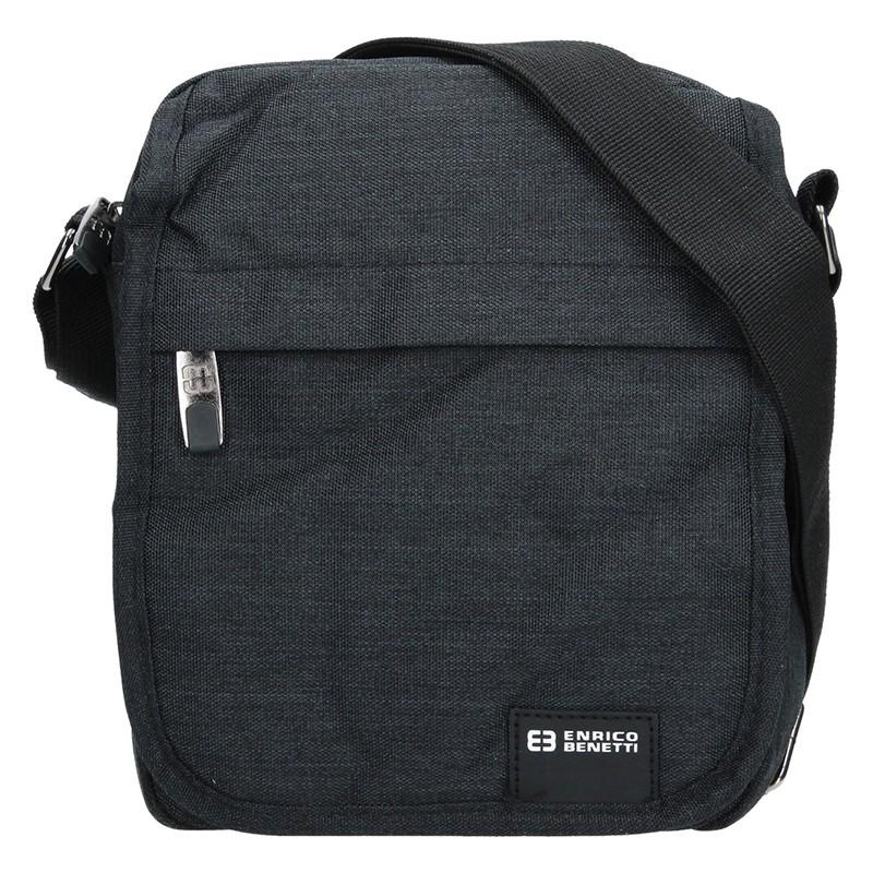 Pánská taška na doklady Enrico Benetti Mojmír - černá ba4433e7d6