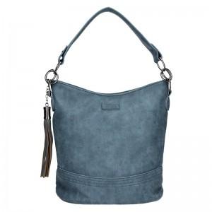 Moderní dámská kabelka Piace Molto Karla - modrá