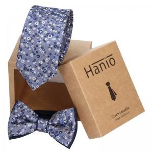 Sada kravata a motýlek Hanio K0454