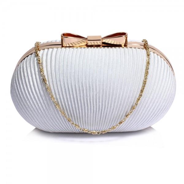 Dámské psaníčko LS Fashion Bethany - ivory