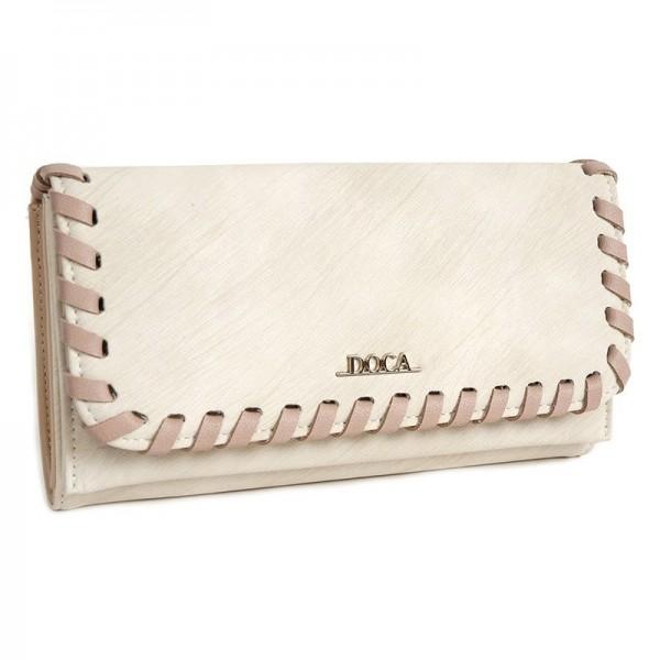 Dámská peněženka Doca 64652 - béžová